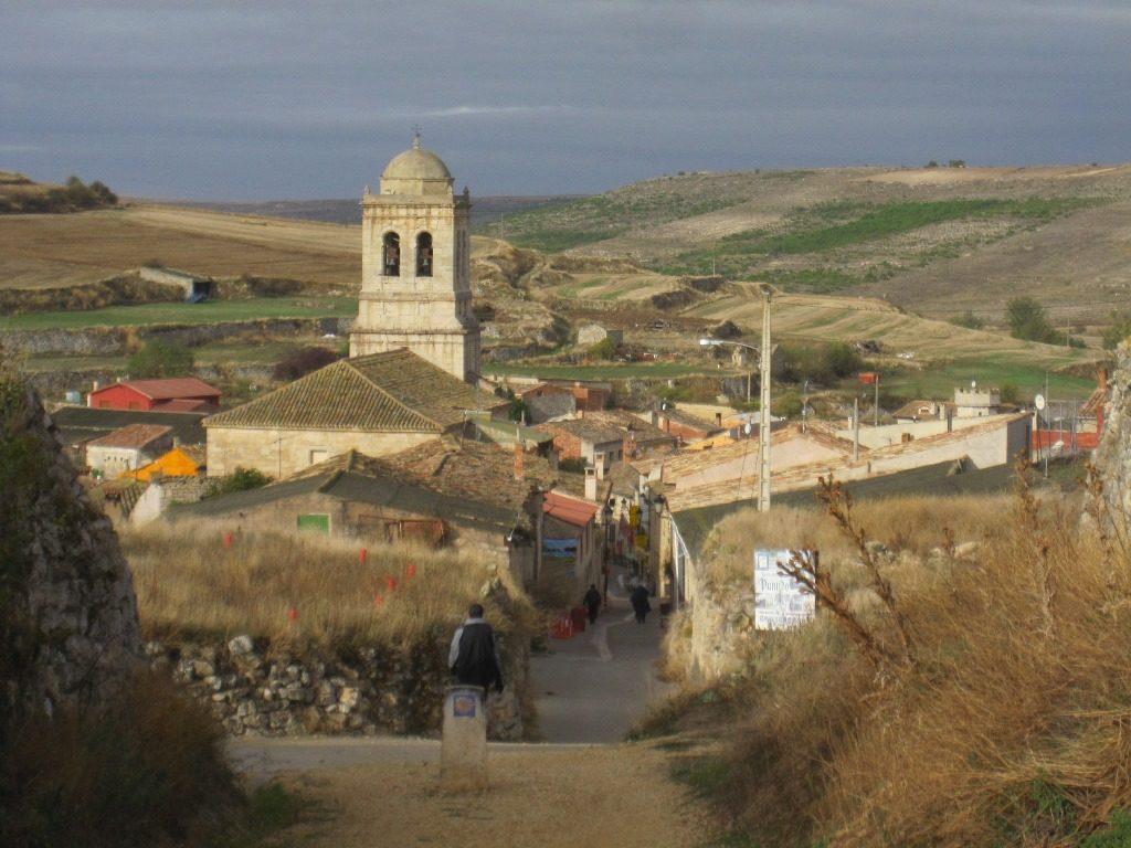 Hiking the Camino Frances into Hermanillos