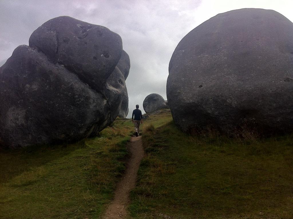 A surprising jumble of enormous rocks