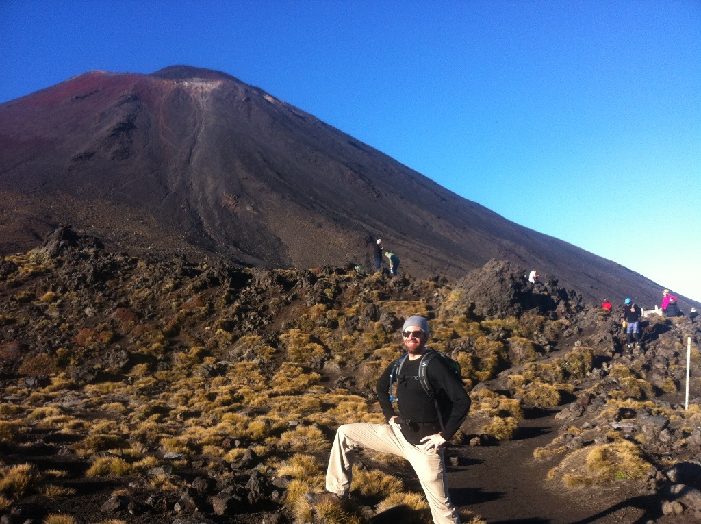 Mt Ngauruhoe and Me