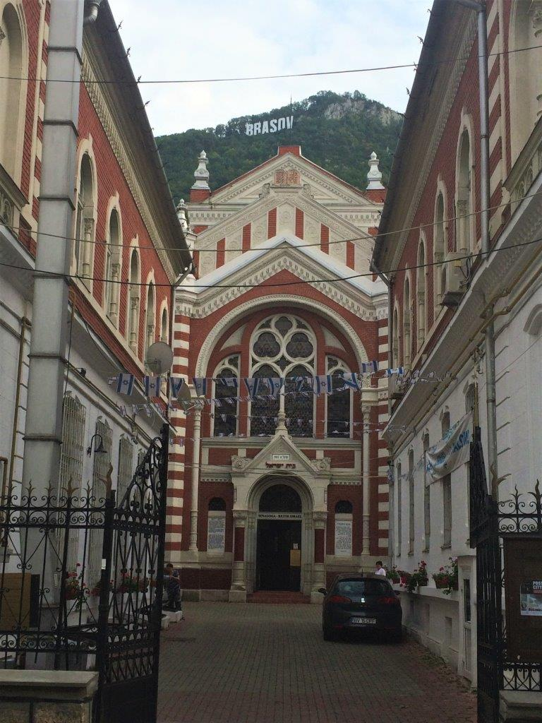 The Beth Israel Synagogue in Brasov Romania