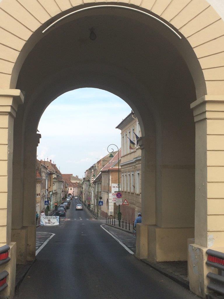 The Schei Gate in Brasov Romania