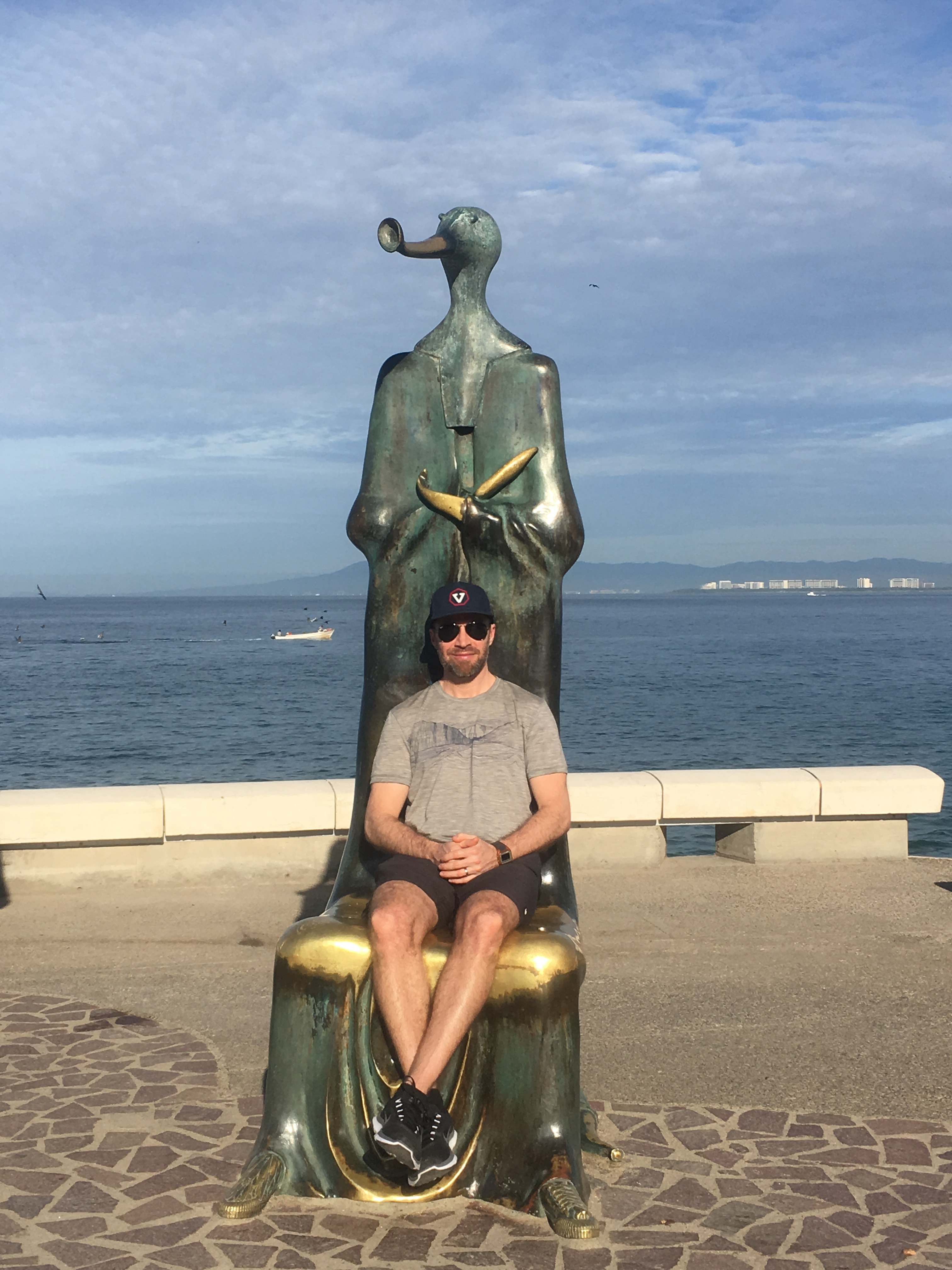 Creepy statue