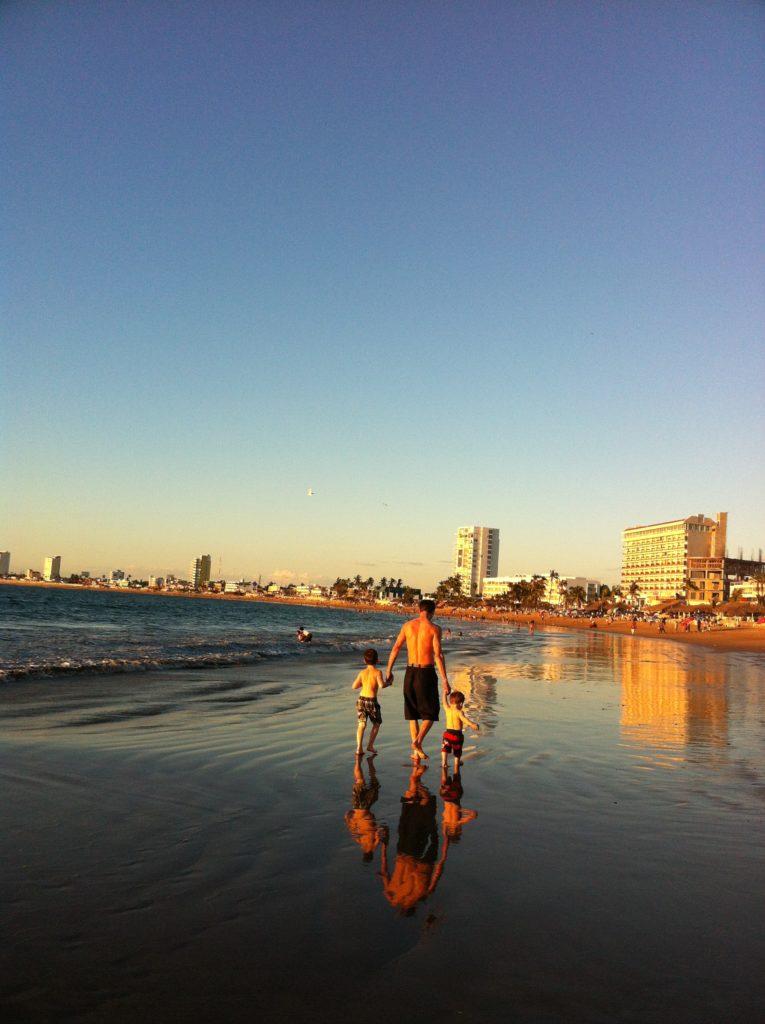 beach, family travel, Mazatlan