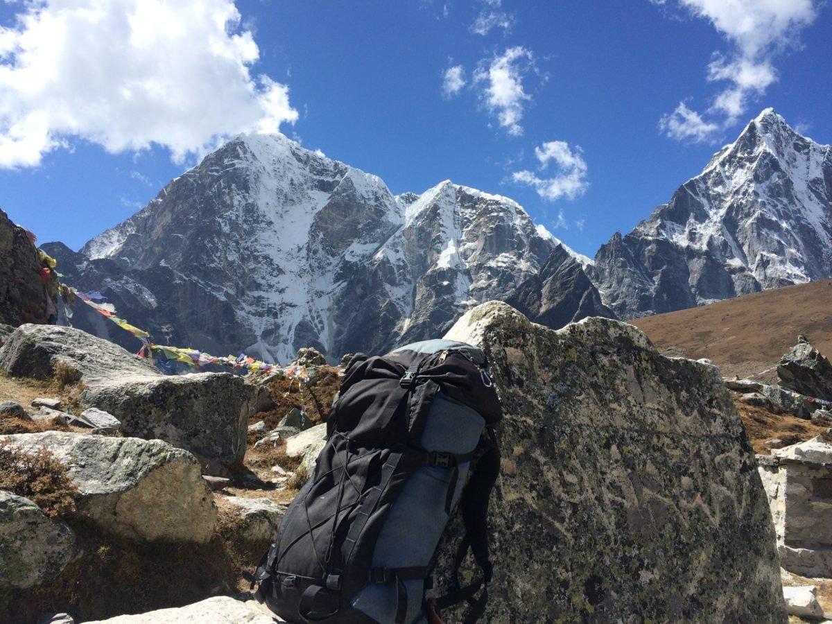 Sunny day at Everest Base Camp, Nepal