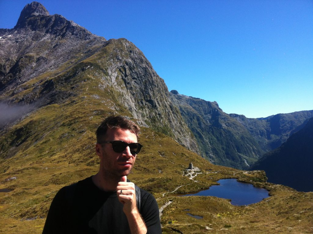 mountains, hiking, lakes, New Zealand, Milford Track