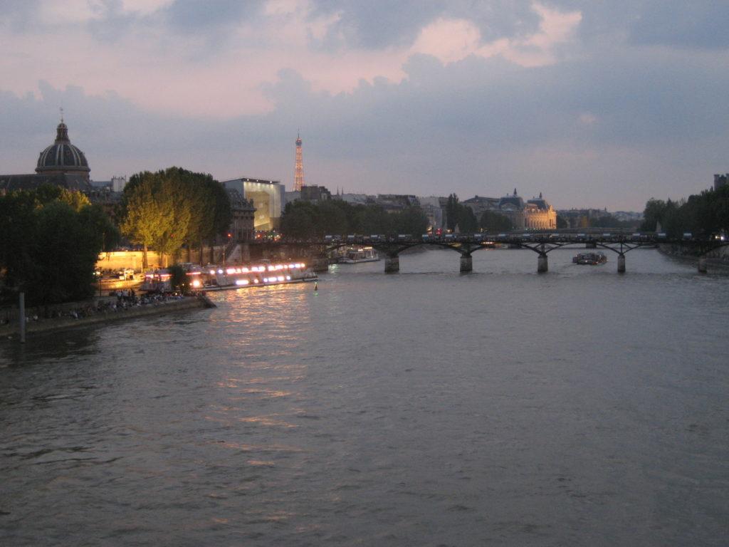 River, Eiffel Tower, Seine, Paris, France