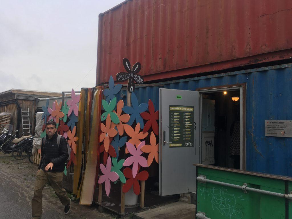 Pissoir in Copenhagen