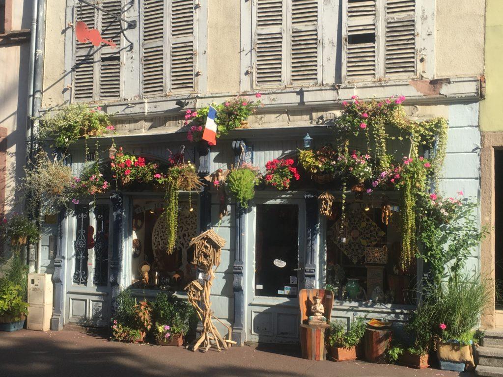 Flower shop in Colmar