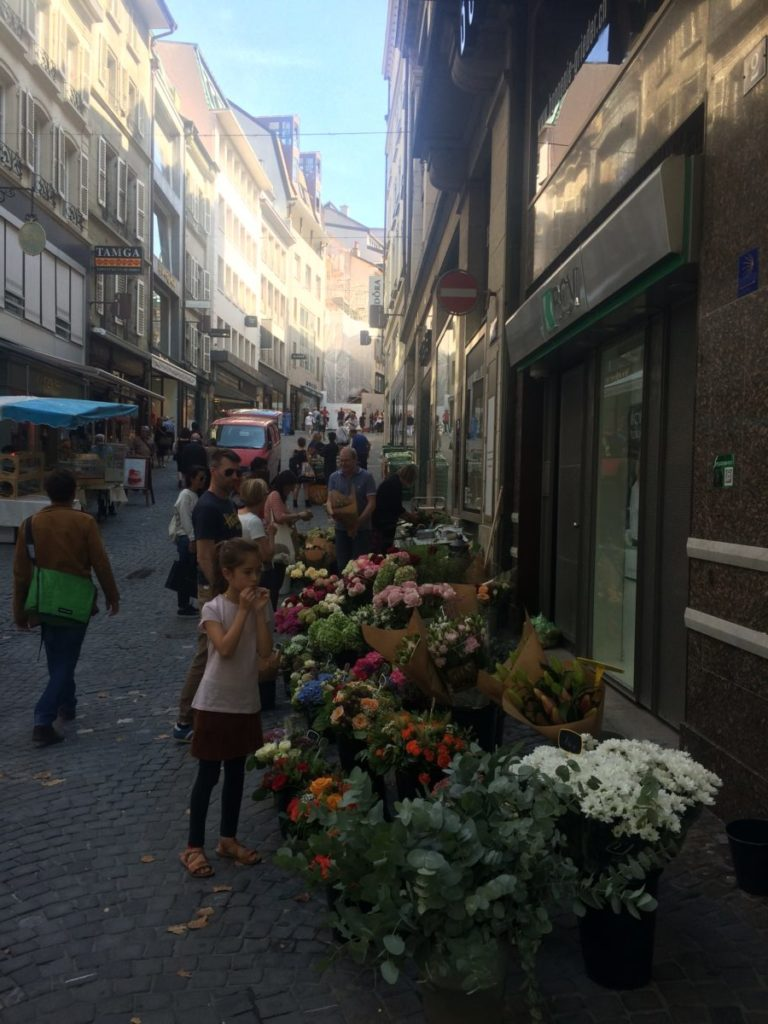 Downtown Lausanne