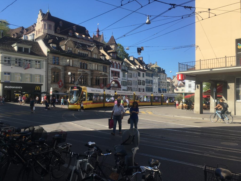Downtown Basel, Switzerland