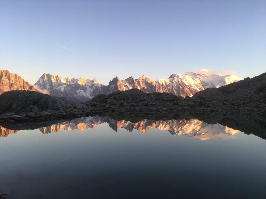 Lac Blanc reflection