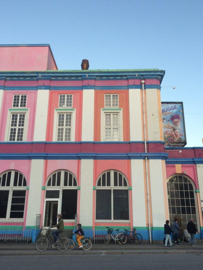 Colorful theater in Copenhagen