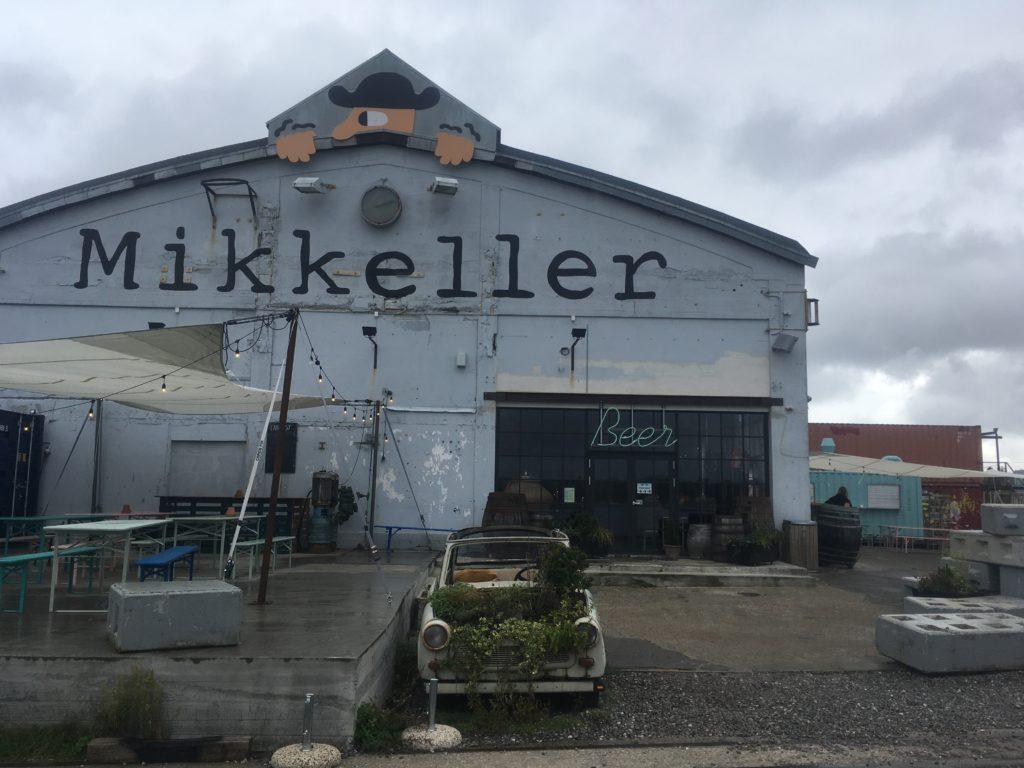 Beer hall in Refshaleoen in Copenhagen