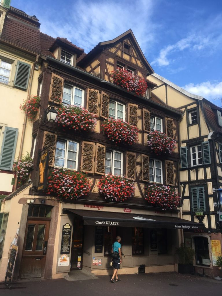 Traditional bakery in Colmar