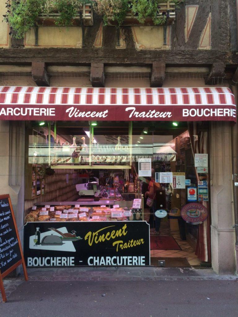 Butcher shop in Colmar