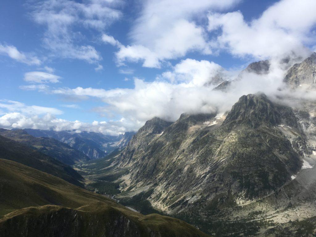 Val Ferret in Italy