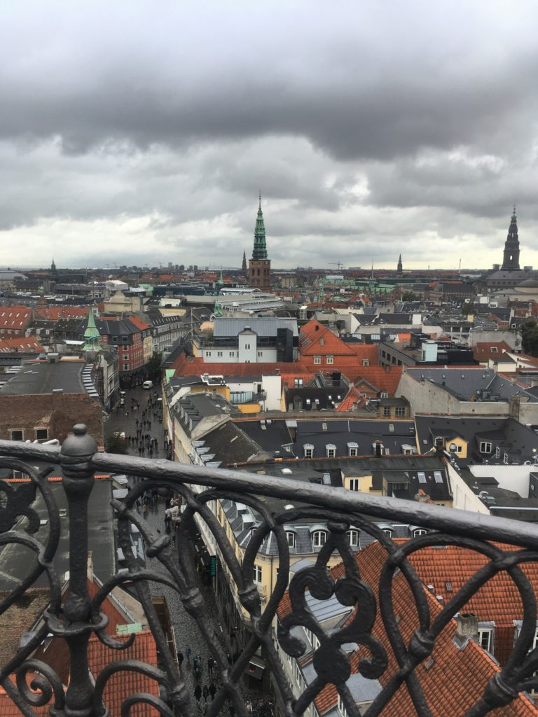 View from Rundetarn in Copenhagen
