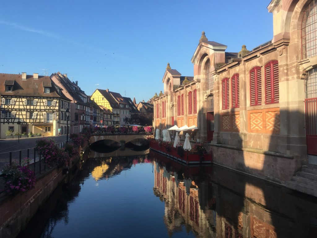 Canal reflections in Colmar