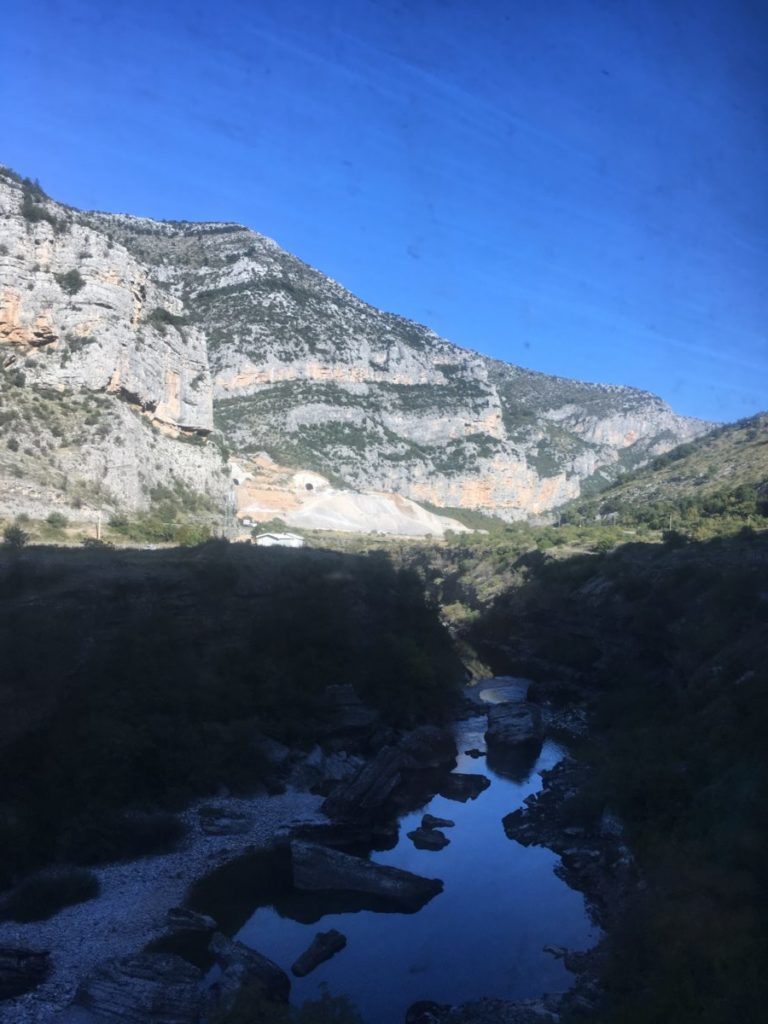 A river in Montenegro