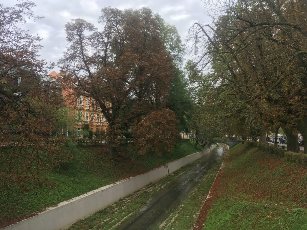 Canal in Ljubljana