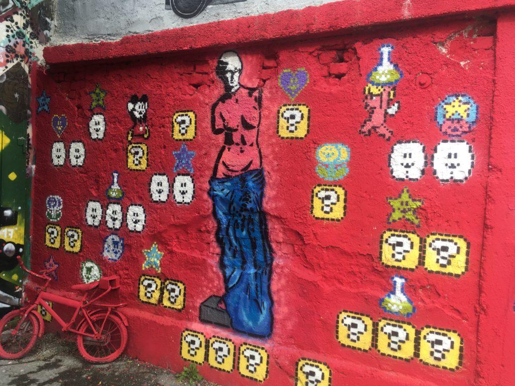 Graffiti in Ljubljana
