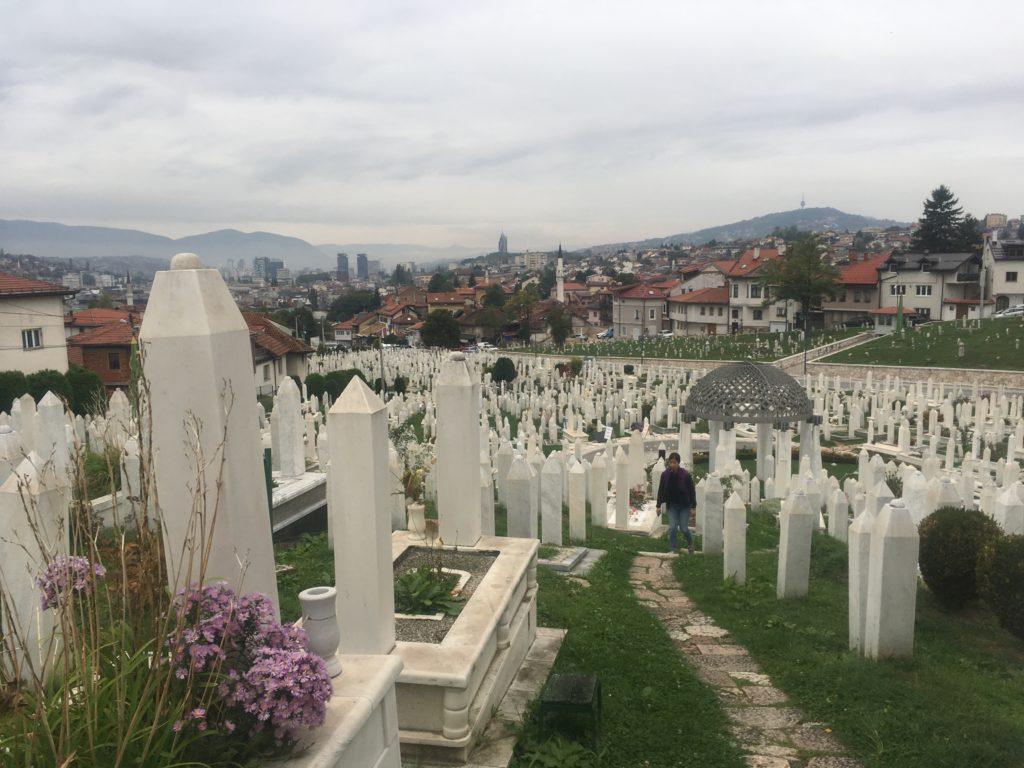 Kovaci Cemetery in Sarajevo