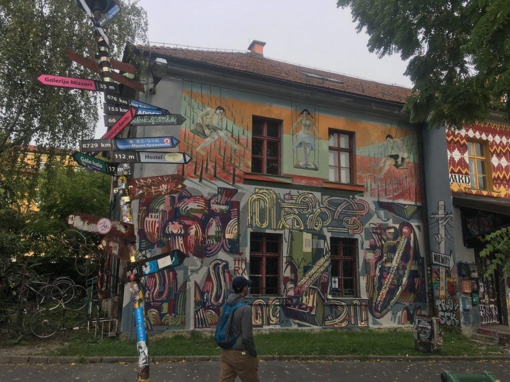 Metelkova Mesto in Ljubljana