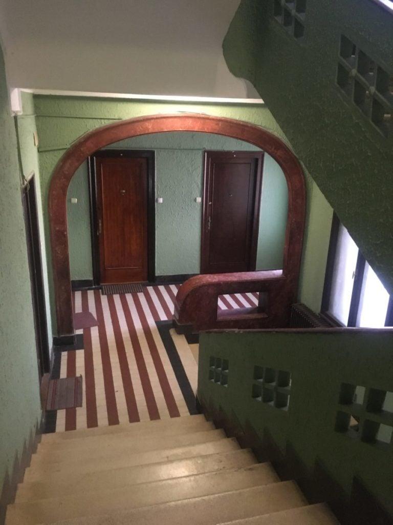 Classic apartment building in Belgrade