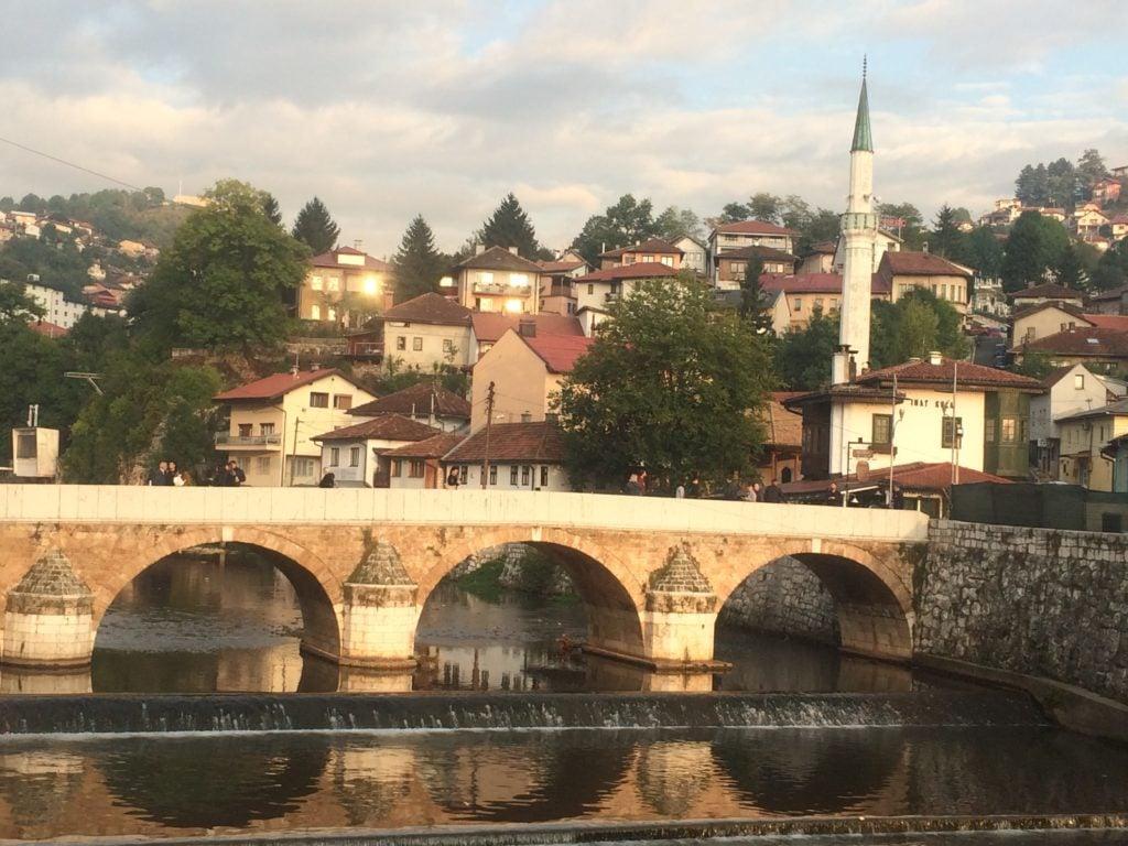 Sehercahaja Bridge in Sarajevo