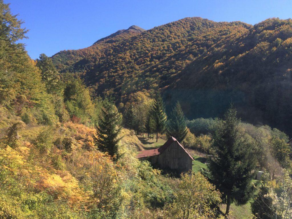 Cabin in rural Serbia