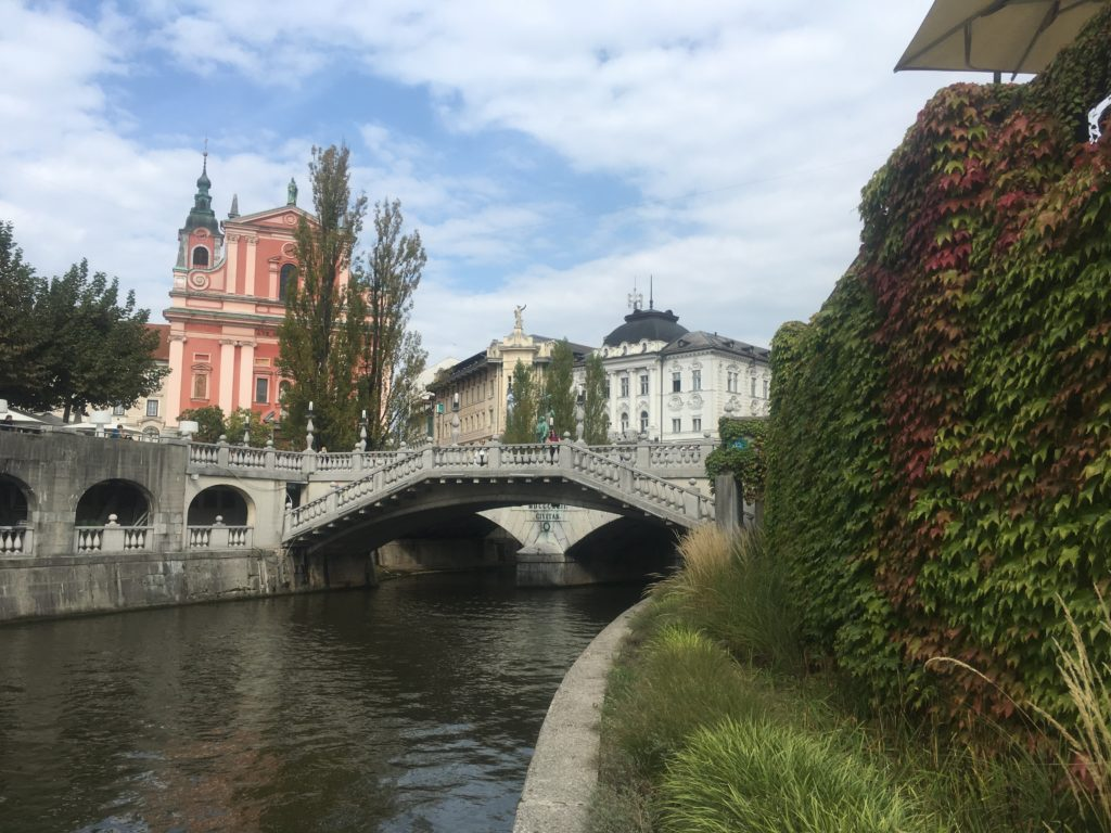 Triple Bridge in Ljubljana