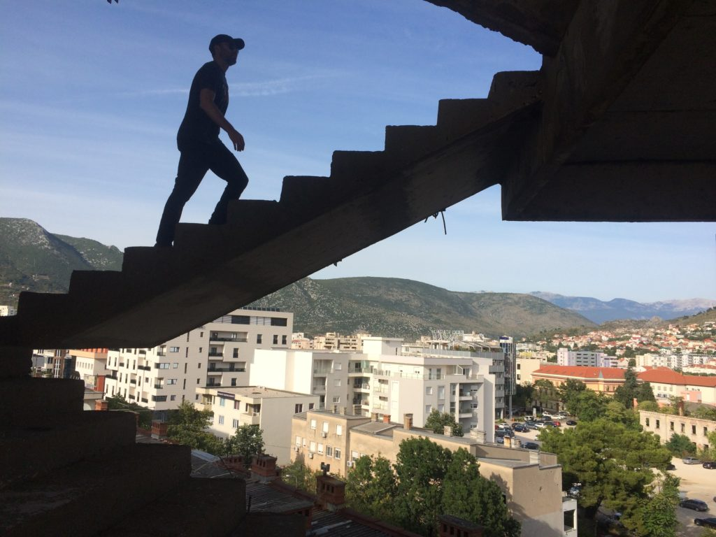 Sniper Tower in Mostar