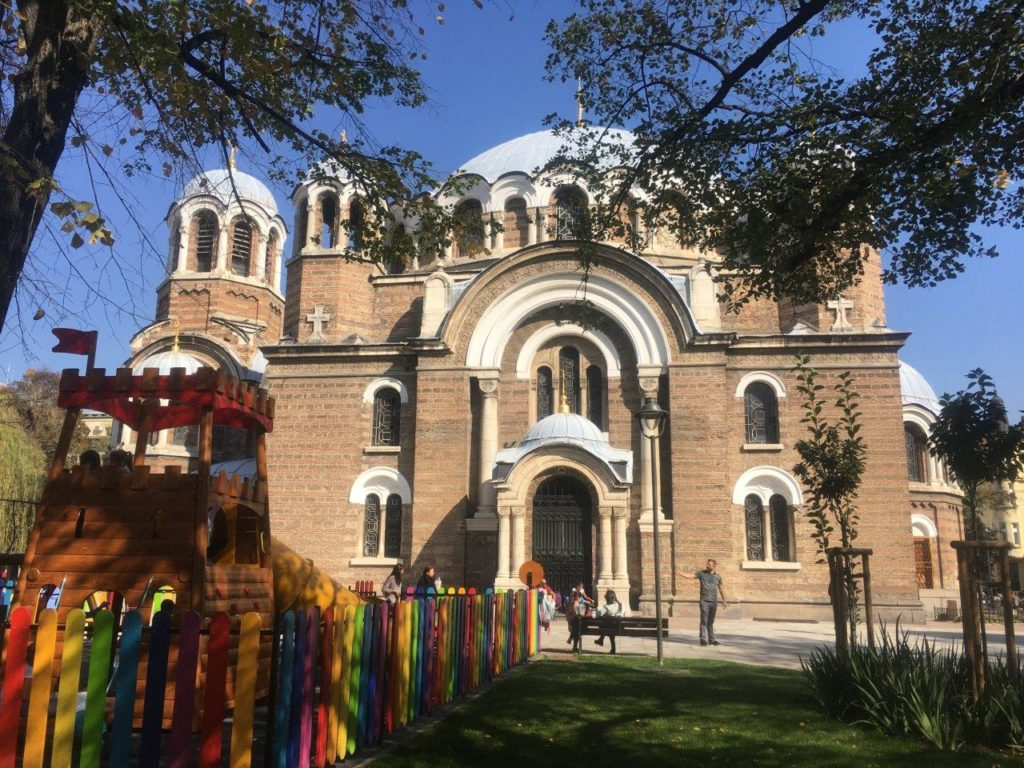 Church of Sveti Sedmochislenitsi, Sofia