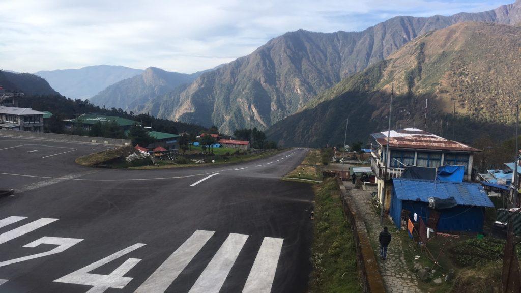 Lukla runway, Nepal