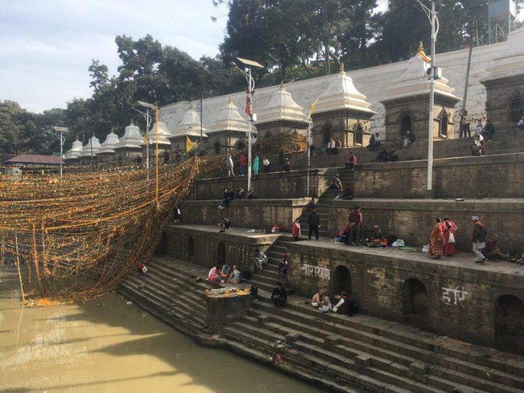 Sacred temple in Pashupatinath, Nepal