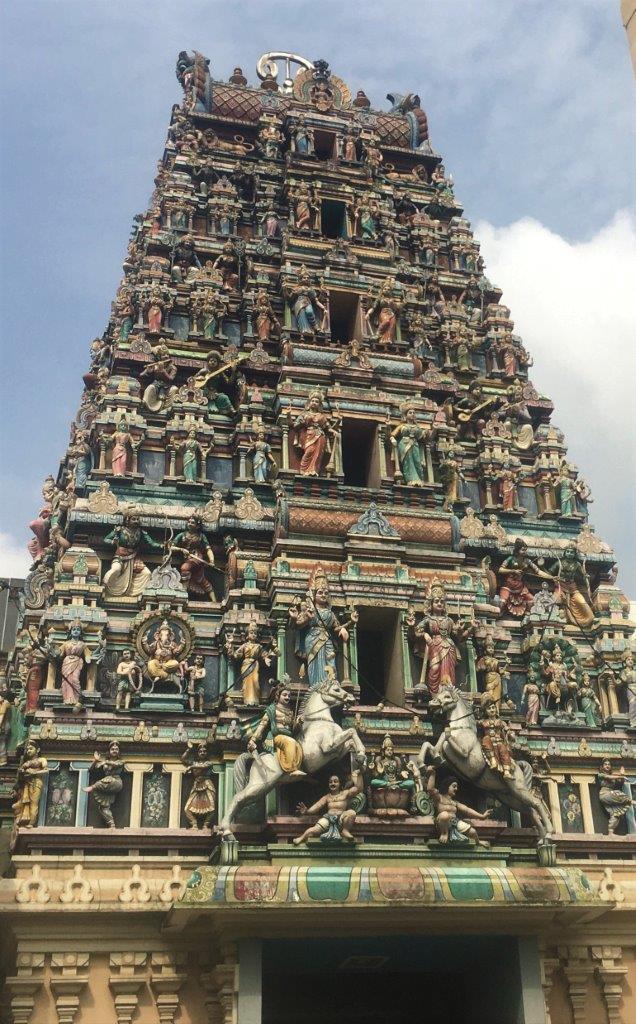 Temple in Kuala Lumpur
