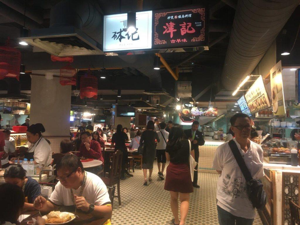 Lot 10 food court in Kuala Lumpur, Malaysia
