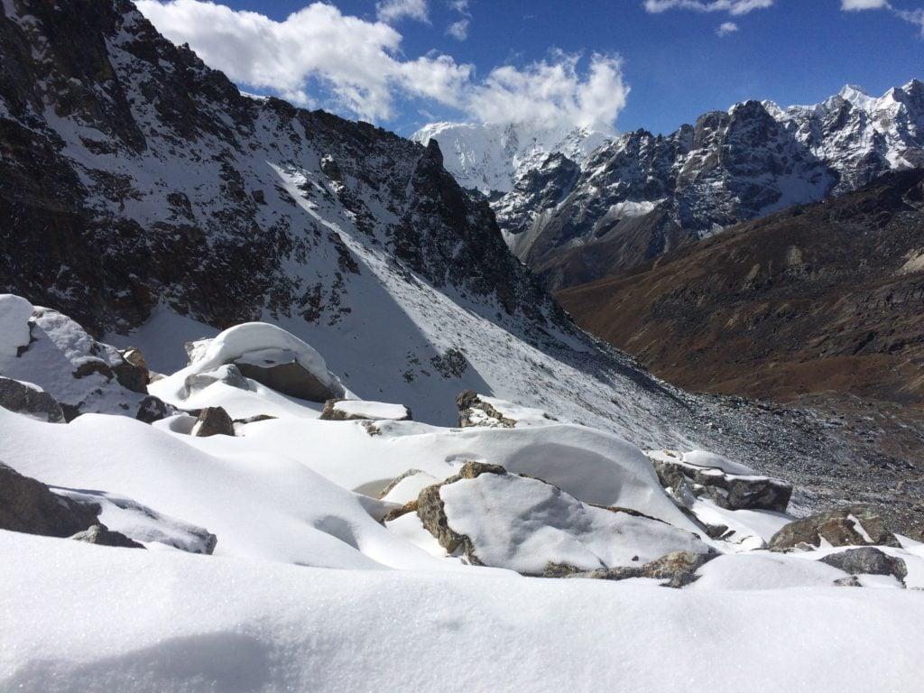 Renjo La in the Himalaya