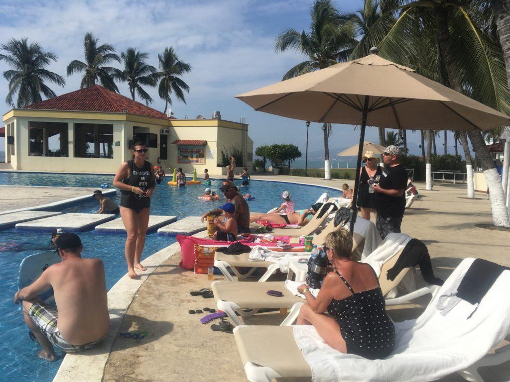 Group of guests at Samba Vallarta Resort in Mexico