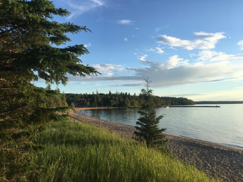 Waskesiu Lake Saskatchewan