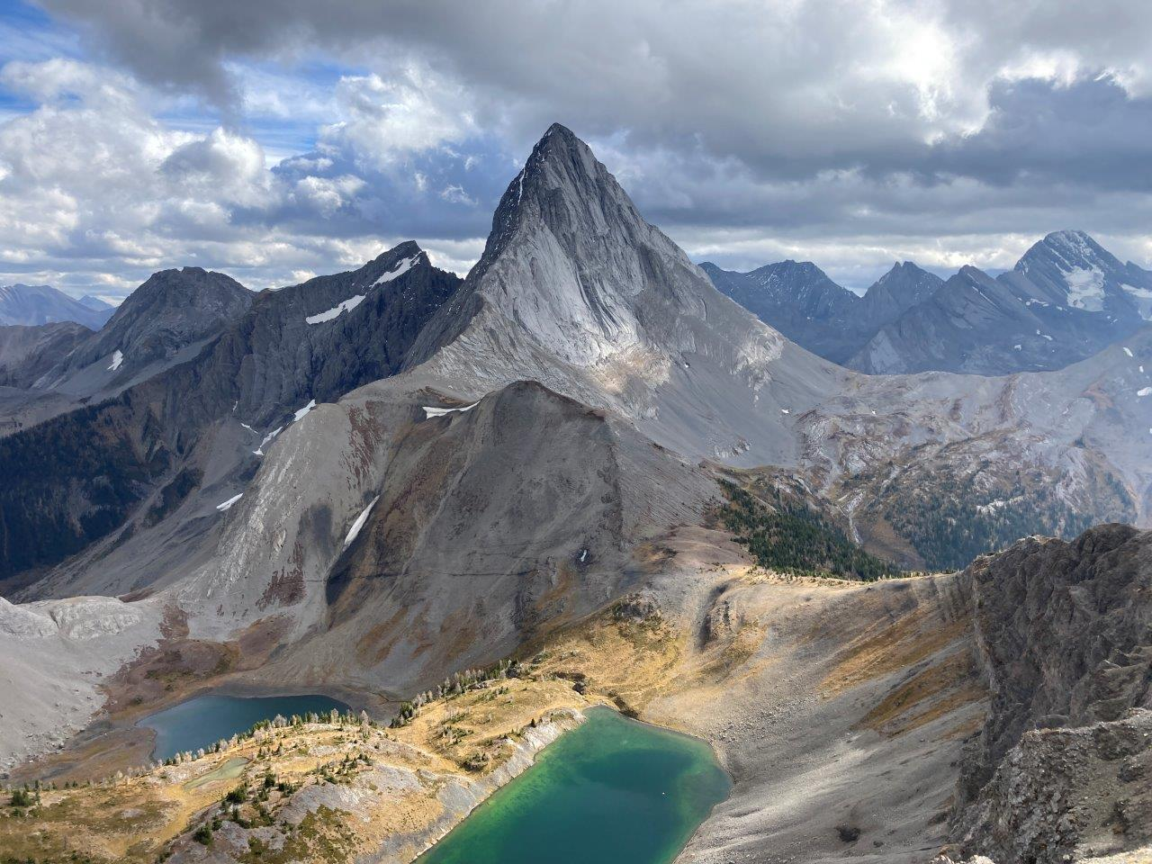 View from Smutwood Peak, one of the best things to do in Canmore
