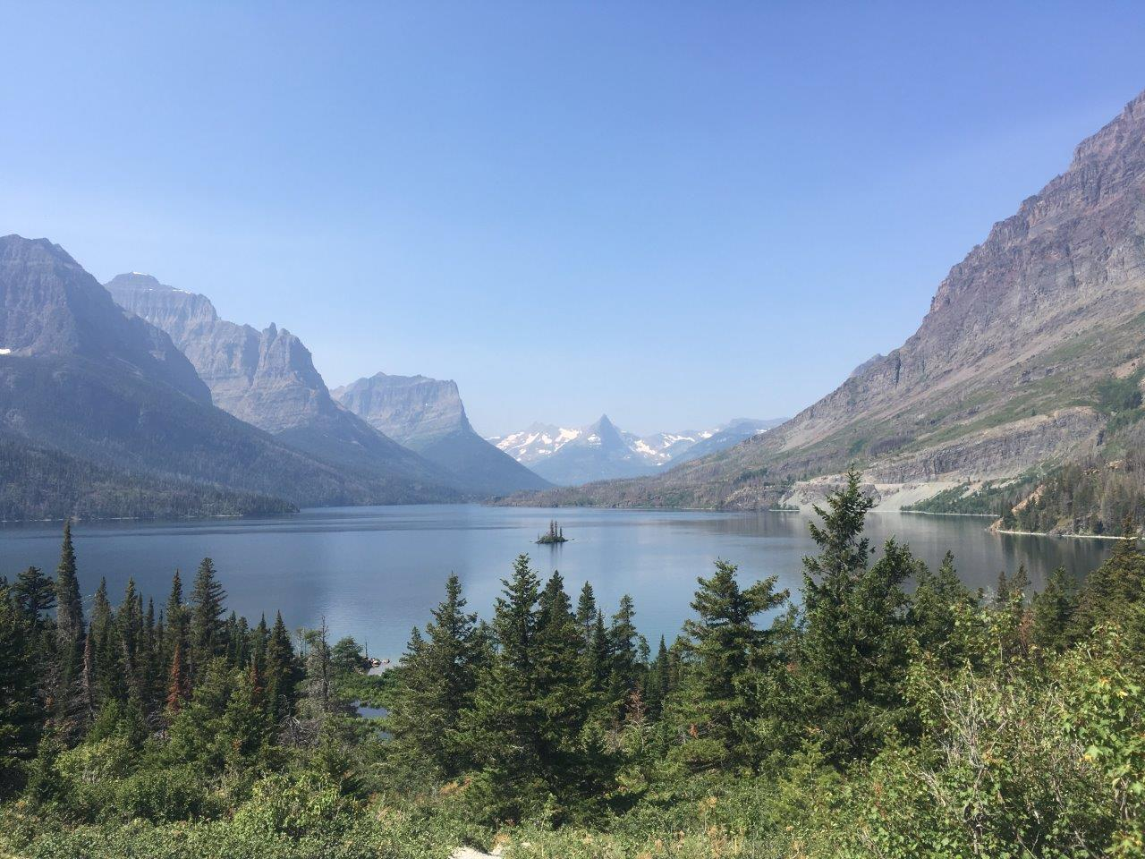 St Mary Lake, Glacier National Park, Montana