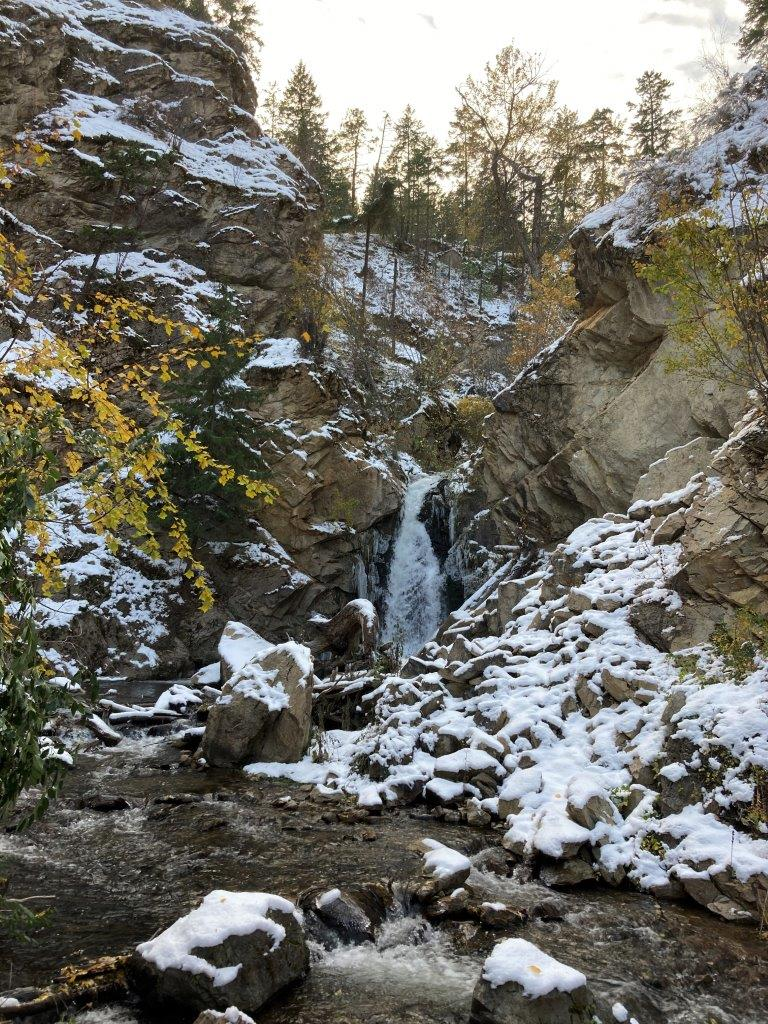 Hardy Falls in Peachland, British Columbia
