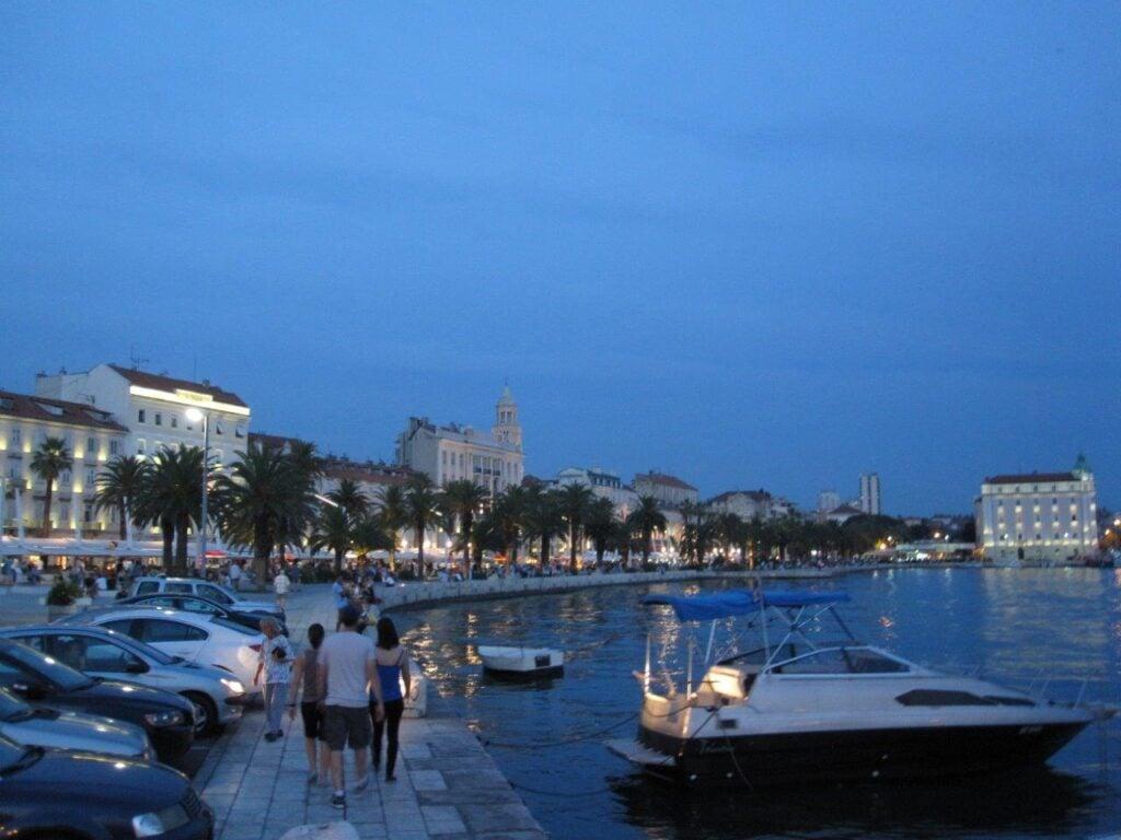 Oceanfront in Split, Croatia
