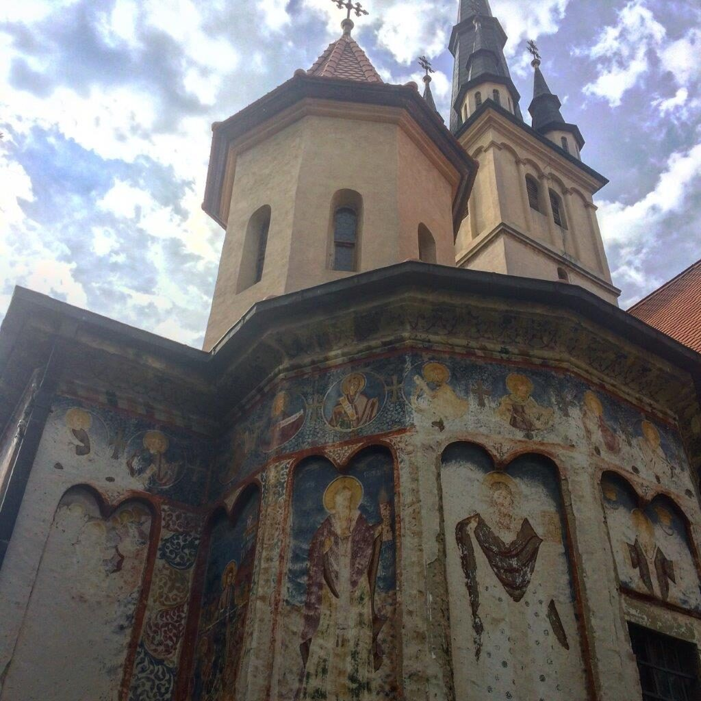 St Nicholas Church in Brasov, Romania
