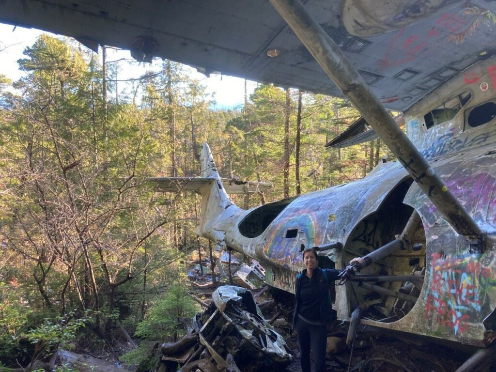 Canso Crash Site Vancouver Island