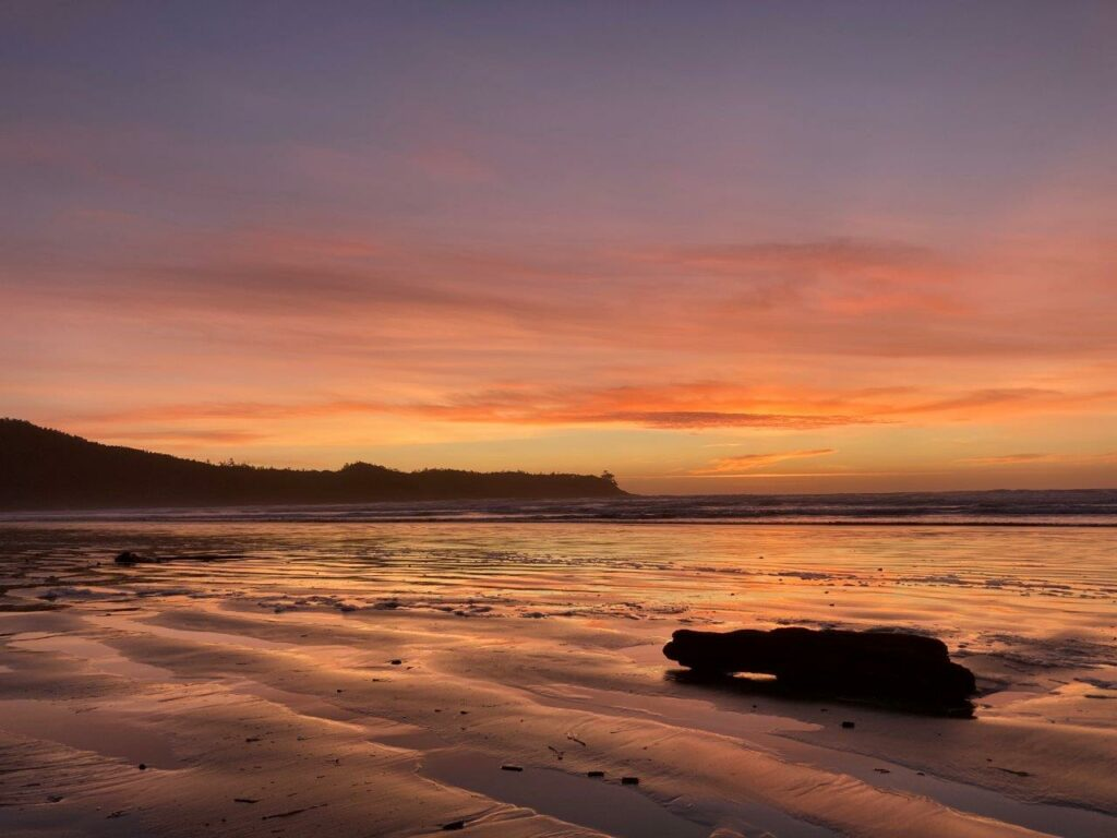 Cox Bay BC sunset