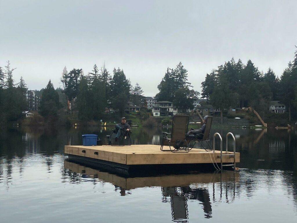 Docking on Glen Lake BC