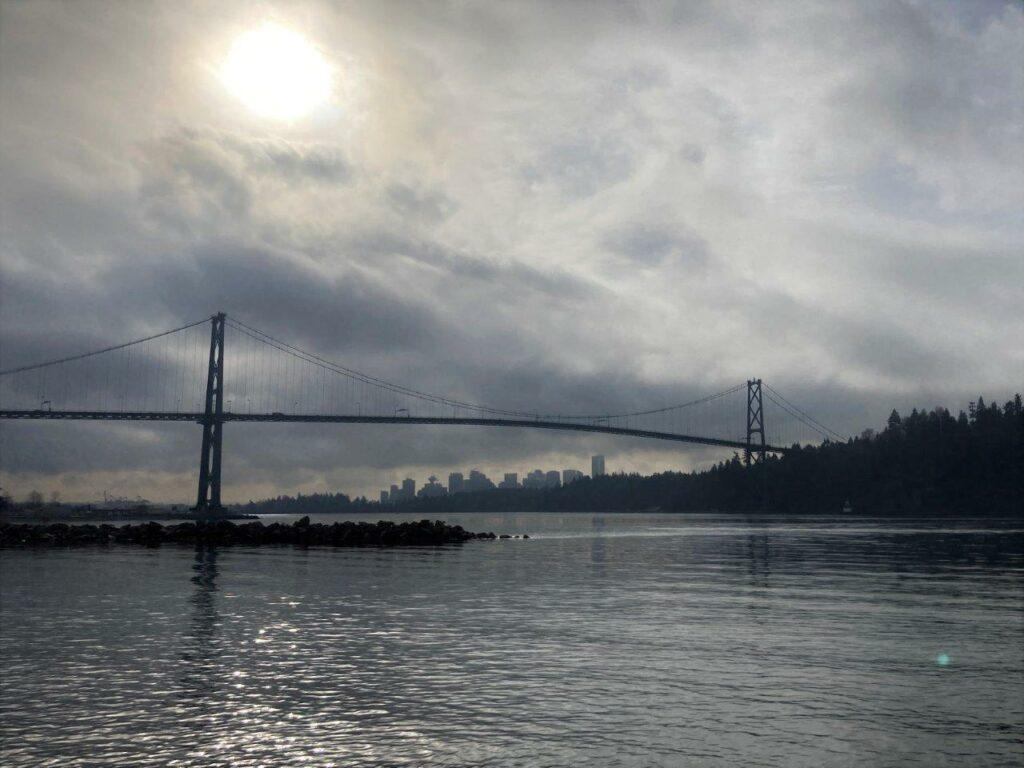 Lion's Gate Bridge - Vancouver BC