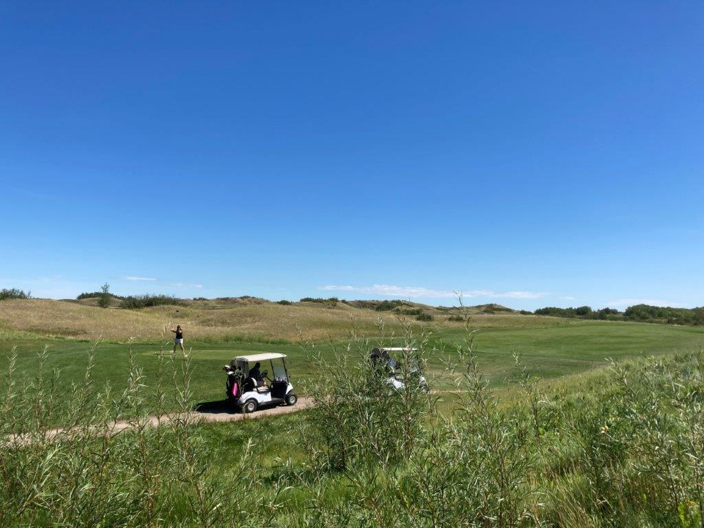 Dakota Dunes golf course in Saskatoon SK